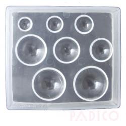 Padico round cabochons mold