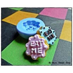 EAT ME cookie mould