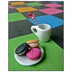 Moule mini biscuit rond 9mm