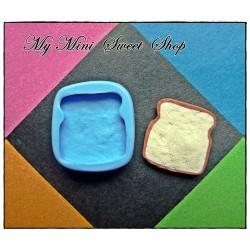 Silikonform Toast