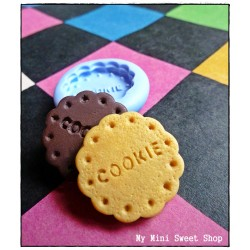 25mm round cookie mould