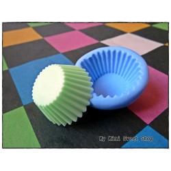 Silikonform 3cm Cupcake Base