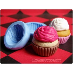 2 Silikonformen Cupcake Set