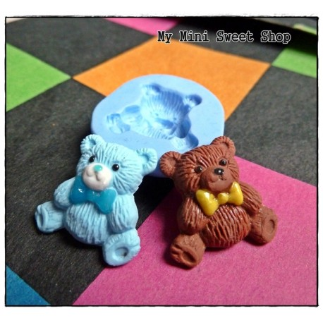 Silikonform 21mm Teddybär
