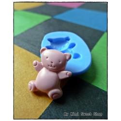 Mal teddybeer 15mm