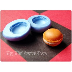 Silicone mini macroon mould - 10mm