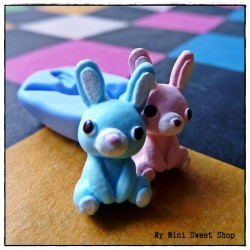 Plush rabbit mould