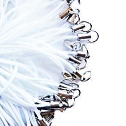 Handy Schlaufenband mit Ring weiß