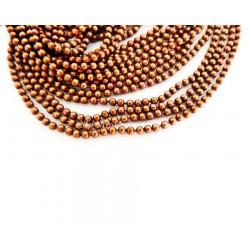 Chaîne billes 1.5mm - Cuivre